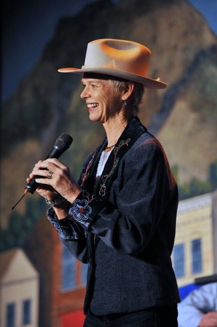 Doris Daley  Colorado Cowboy Poetry Gathering Golden Colorado