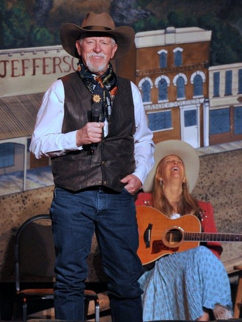 Terry Nash & Joyce Woodson Colorado Cowboy Poetry Gathering Golden Colorado