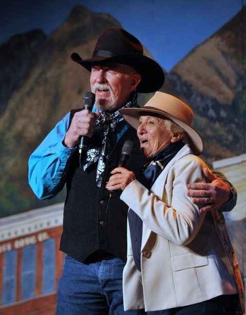 Terry Nash & Carol Heuchan Colorado Cowboy Poetry Gathering Golden Colorado