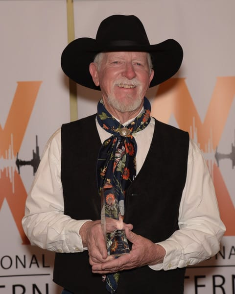 International Western Music Association 2018 CD & Male Poet of the Year Terry Nash